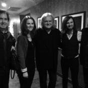 With Ricky Skaggs backstage at the Grand Ole Opry 2015