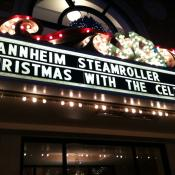 Sharing the marquee with Mannheim Steamroller